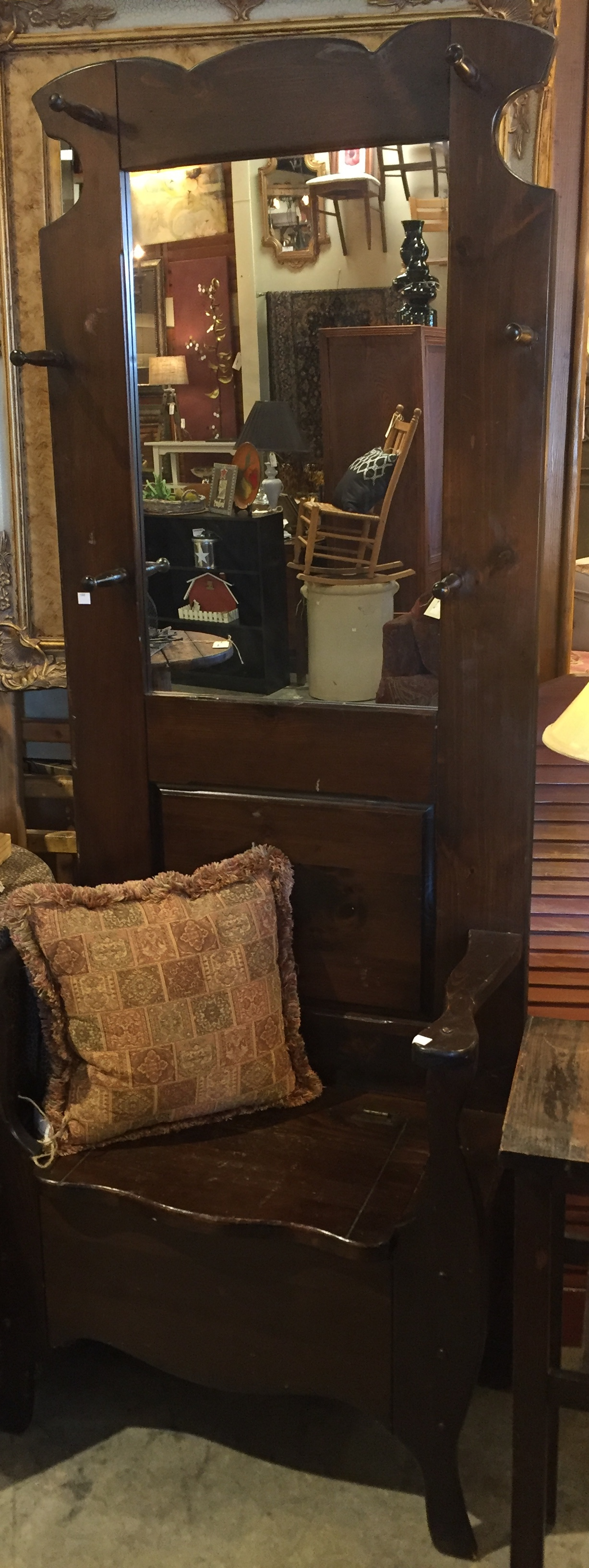 Antique Halltree $695.00 - C1085 24407