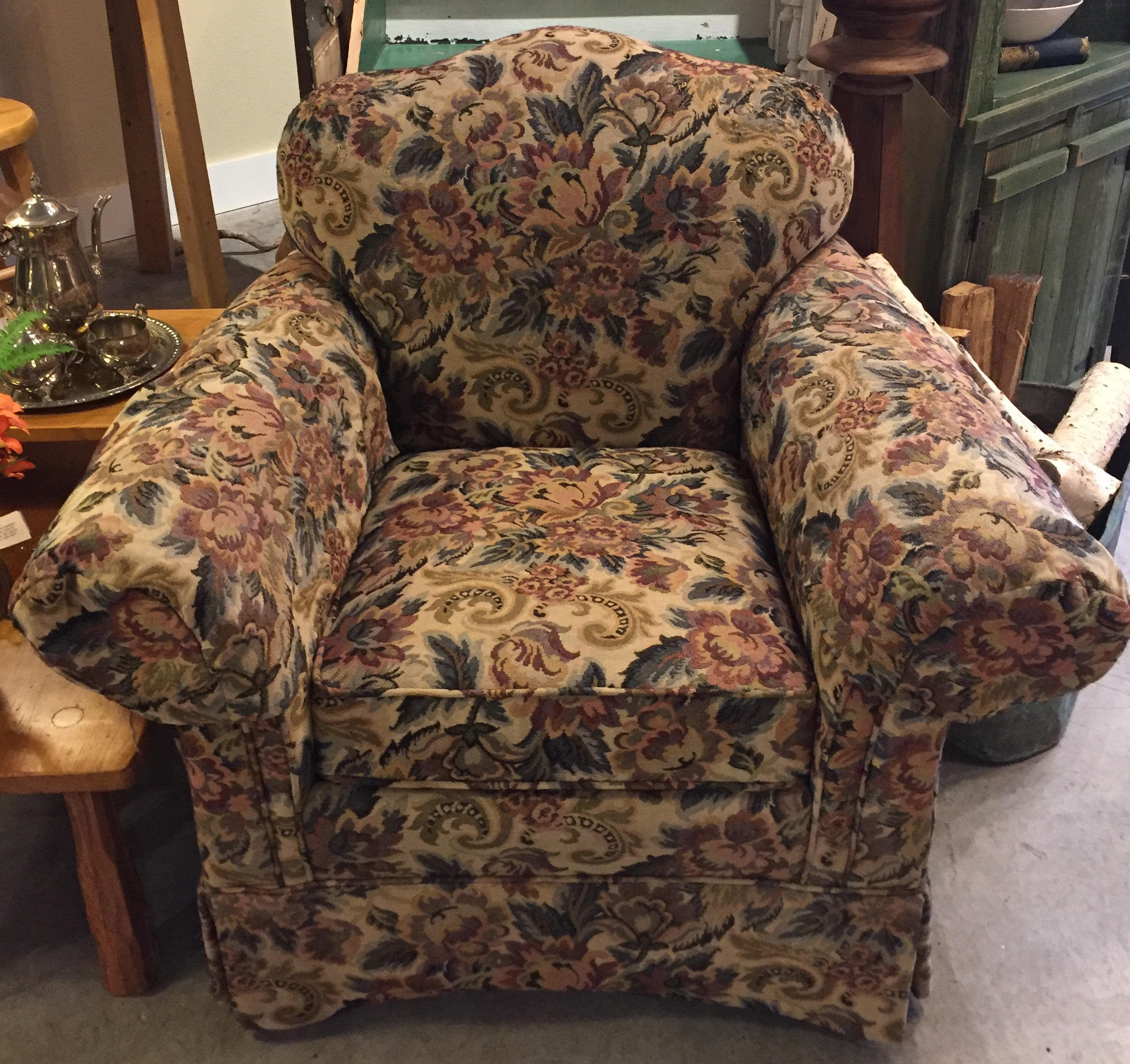 Floral Occasional Chair $139.95 - C1085 24761