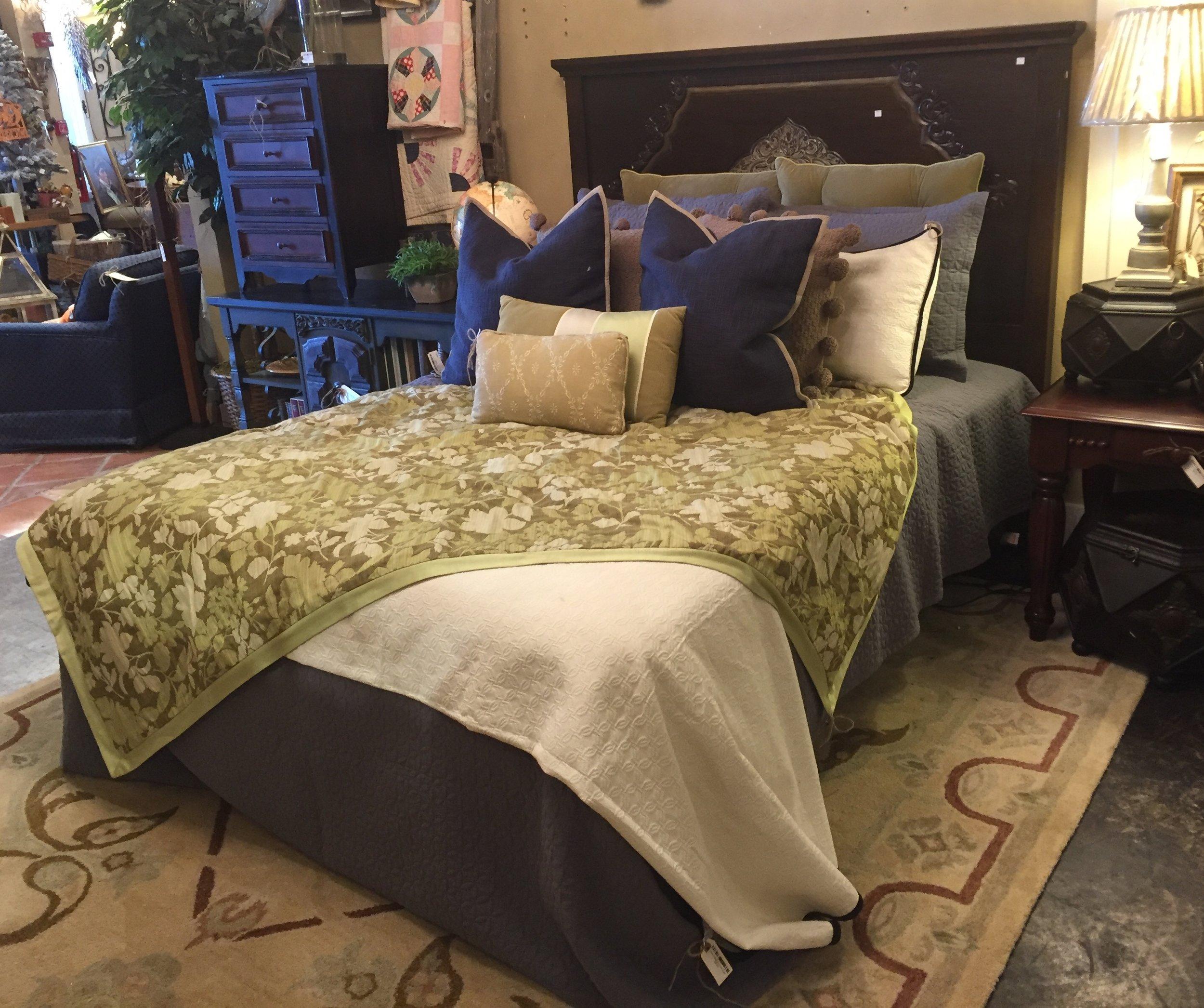 Carved Bed $749.95 - C1107 24324
