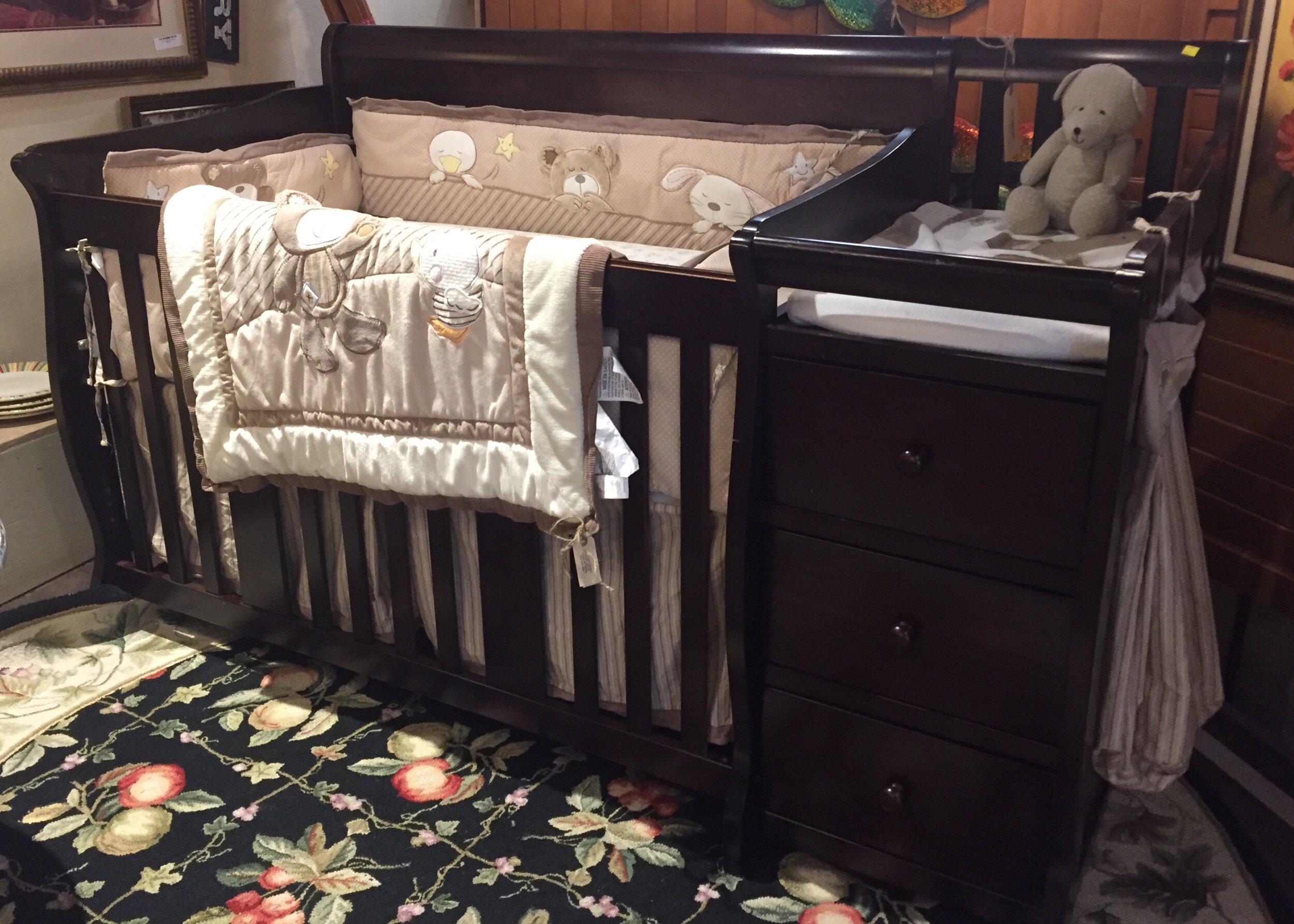 Baby Bed with Changing Table $249.95 - C1084 24352