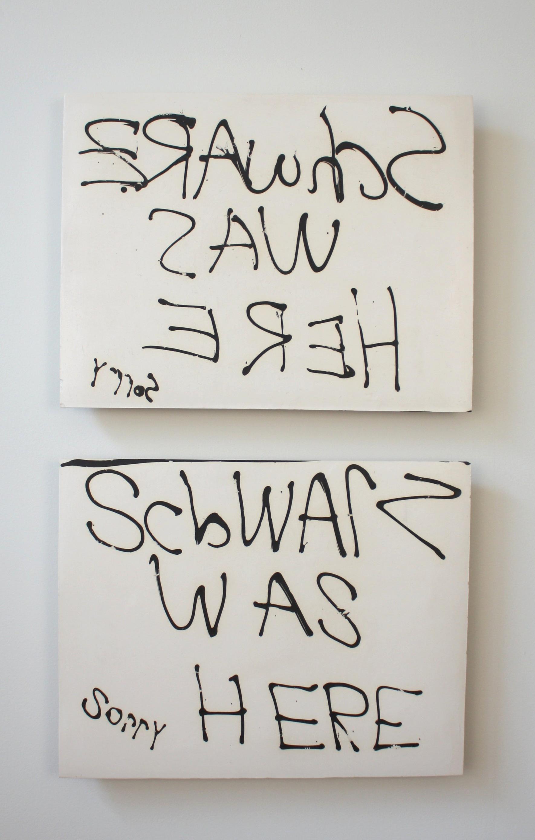 Schwarz was Here