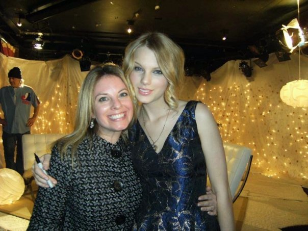 She has interviewed and met some of the world's hottest celebrities including Taylor Swift, Keith Urban, Luke Bryan, Brad Paisley, Bryan Adams, Michael Bublé, Shakira, and more!  Click Here  to see more pics!