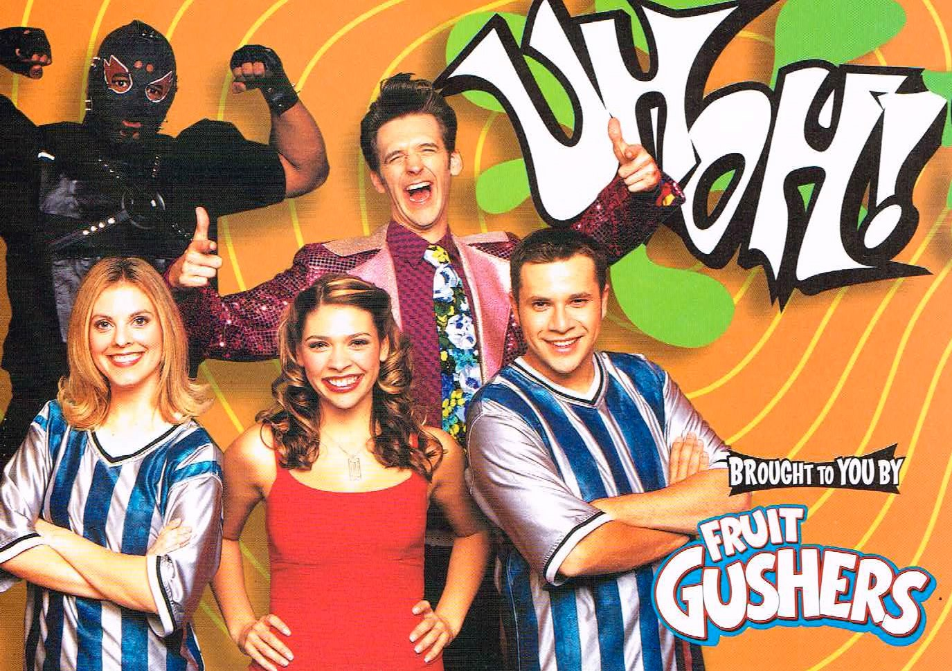 "One of Sam's first big television gig's was on the hit game show ""UhOh"" on YTV! This show aired in Canada, Singapore, Australia and in the United States!  Click Here  to see an episode!"