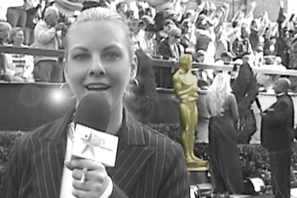 Sam went to Los Angeles to cover all the red carpet events at the Academy Awards for an entertainment website.