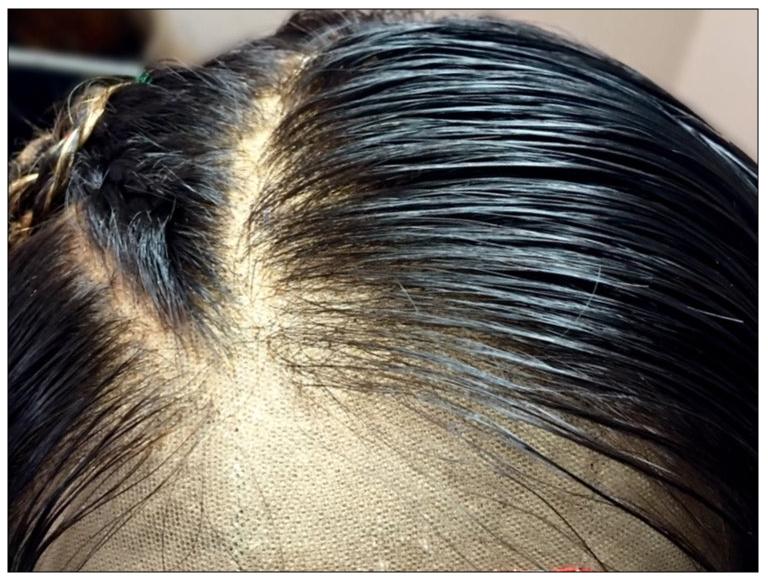 Hand-Made Custom Wig -