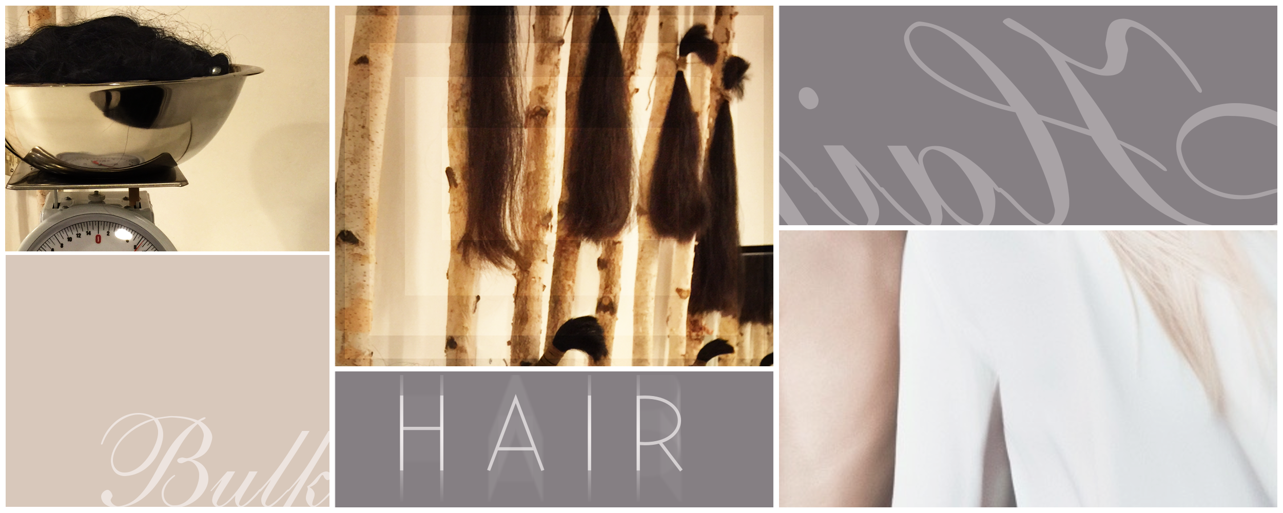 Hair extensions are offered in bulk at our LHP raw hair bar here in New York