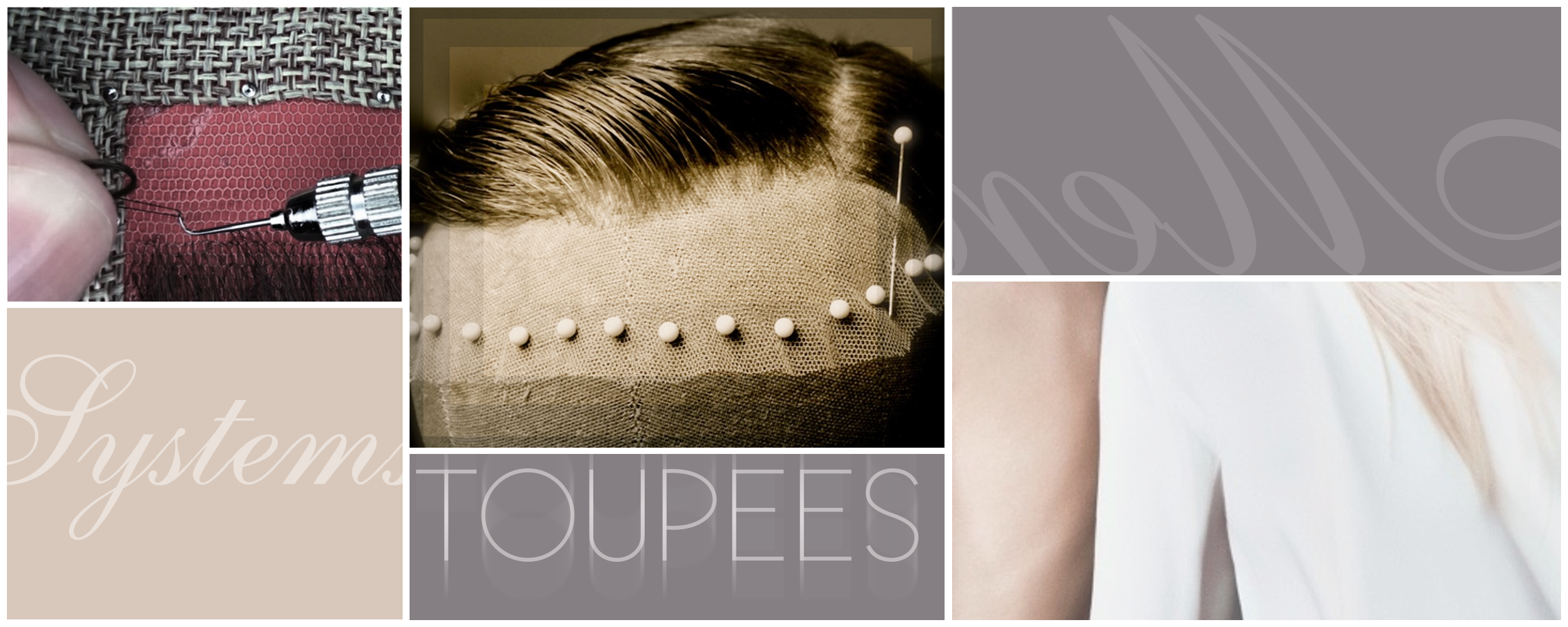 Our custom toupees are made here in New York