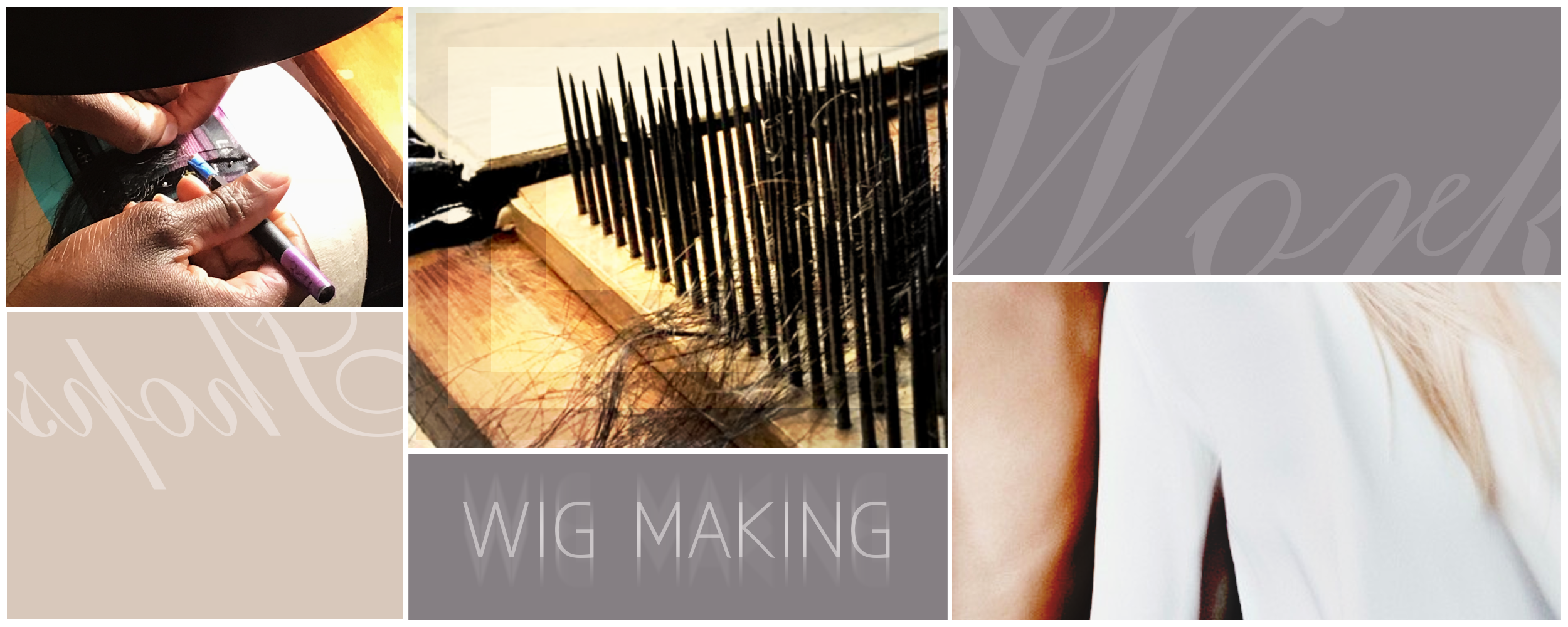 Learn to make wigs at our NYC private workshop!