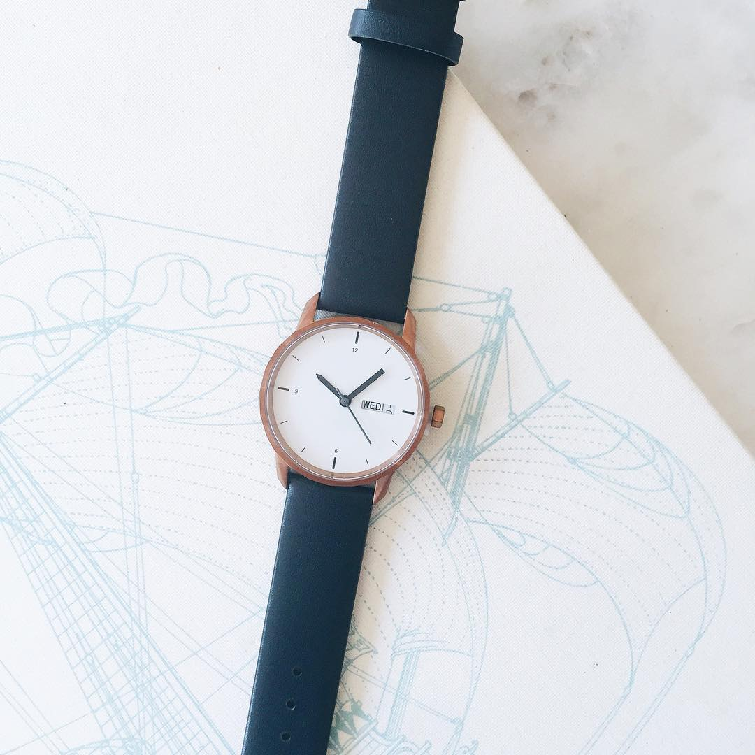 Tinker customizable watch,  $150 (color, metal, size vary)