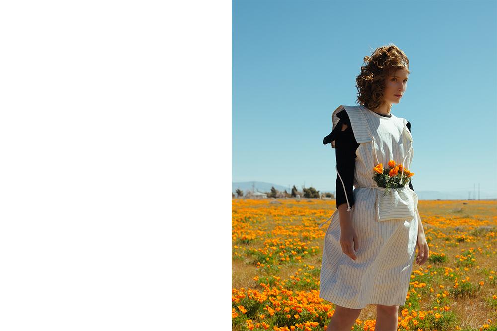Désiréeklein  'Sonya' dress , Maria Dora  ribbed ruffle sleeve top