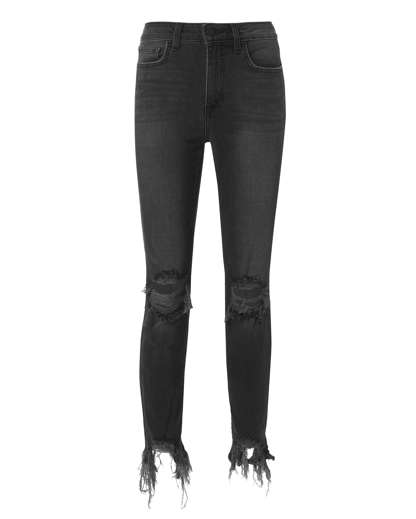 L'Agence 'High Line' jeans in Nighttime Grey, $265