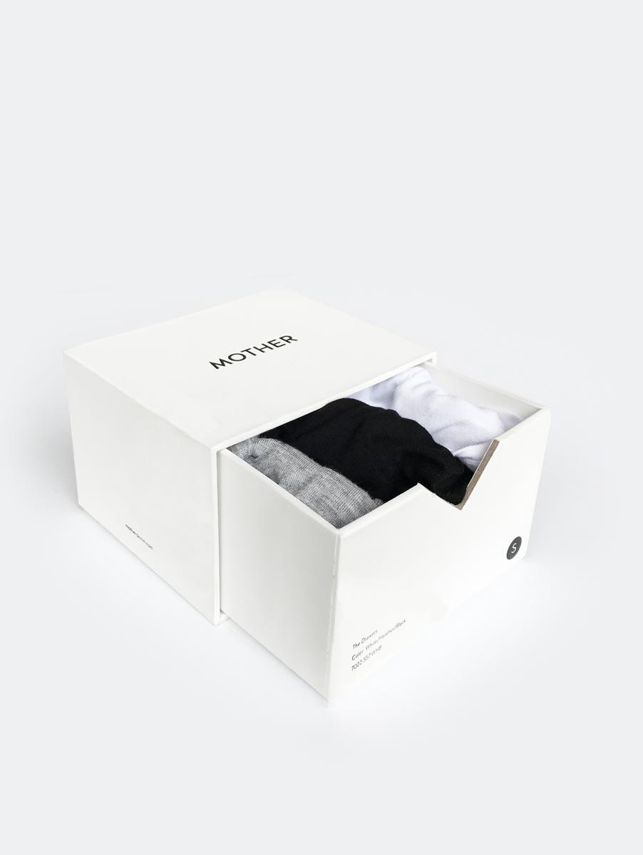 Mother Denim, 'The Drawers' undies 3-pack, $50