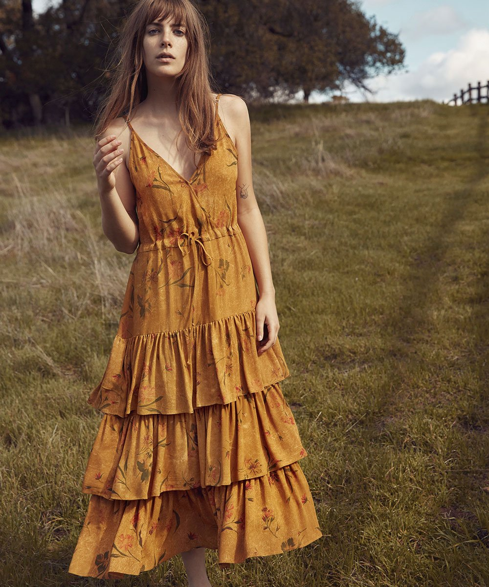 Christy Dawn 'London' dress in Everglade,  $243