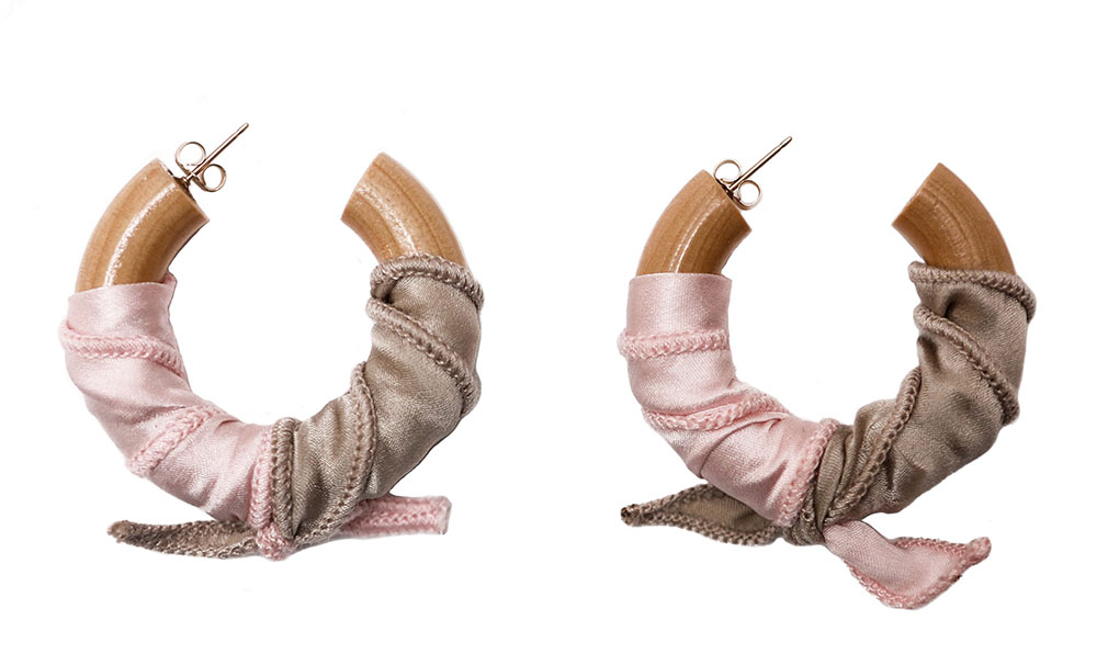 Donni x Sophie Monet 'Silk Summer' hoops, $169