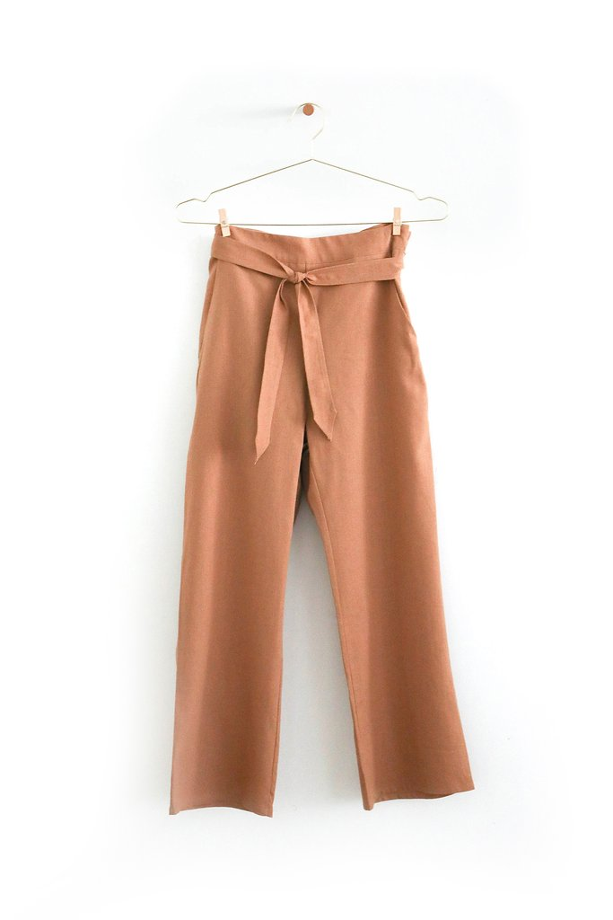 Donni 'Flora' pants in Camel,  $196