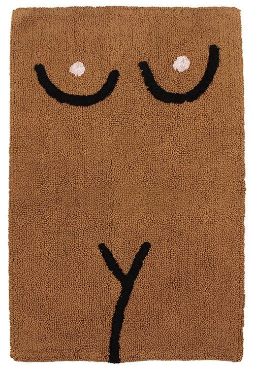 Cold Picnic 'Torso' bathmat in Brown,  $60