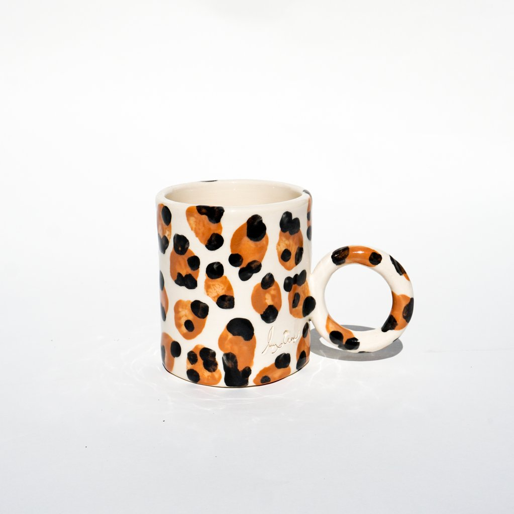 Lux Eros 'Sabor' mug in White,  $45