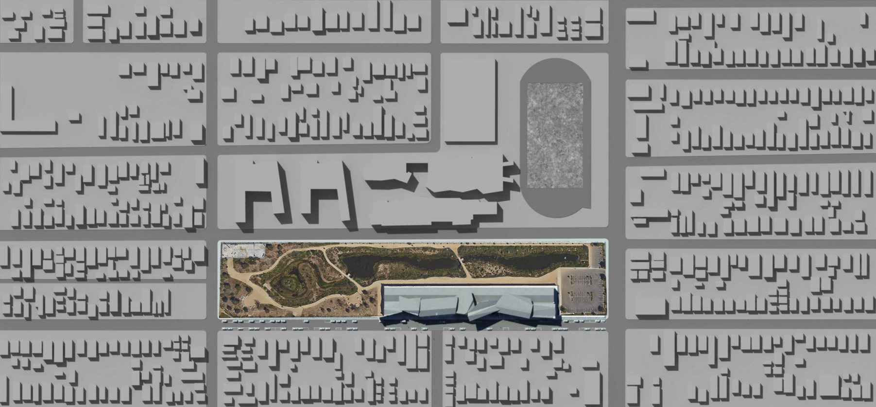 site plan - the park in its context
