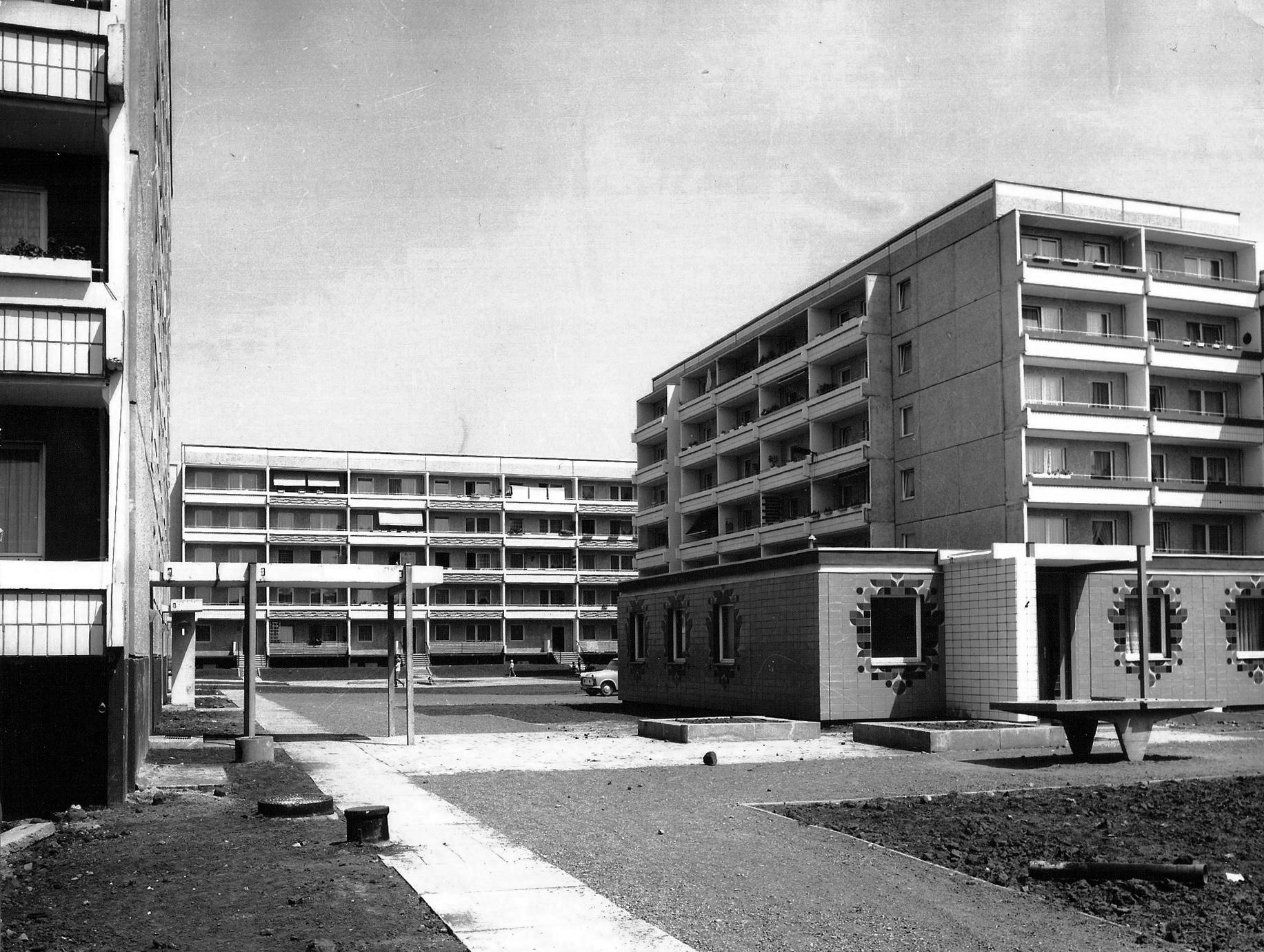 Plattenbau blocks in Neu Olvenstedt, Magdeburg Source: buergerinitiative olvenstedt