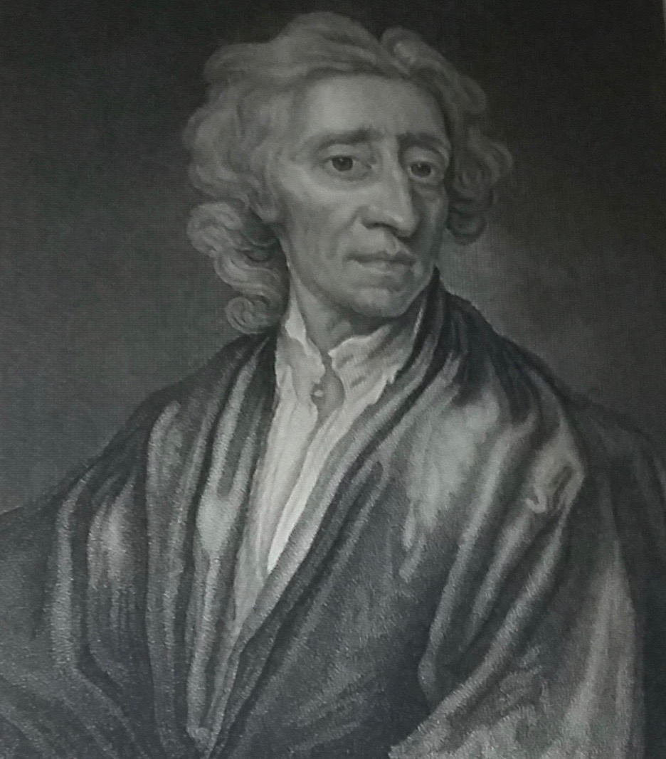 John Locke from the 1824 edition of his works. Courtesy of the Special Collections Department at the Robinson Library, Newcastle University.