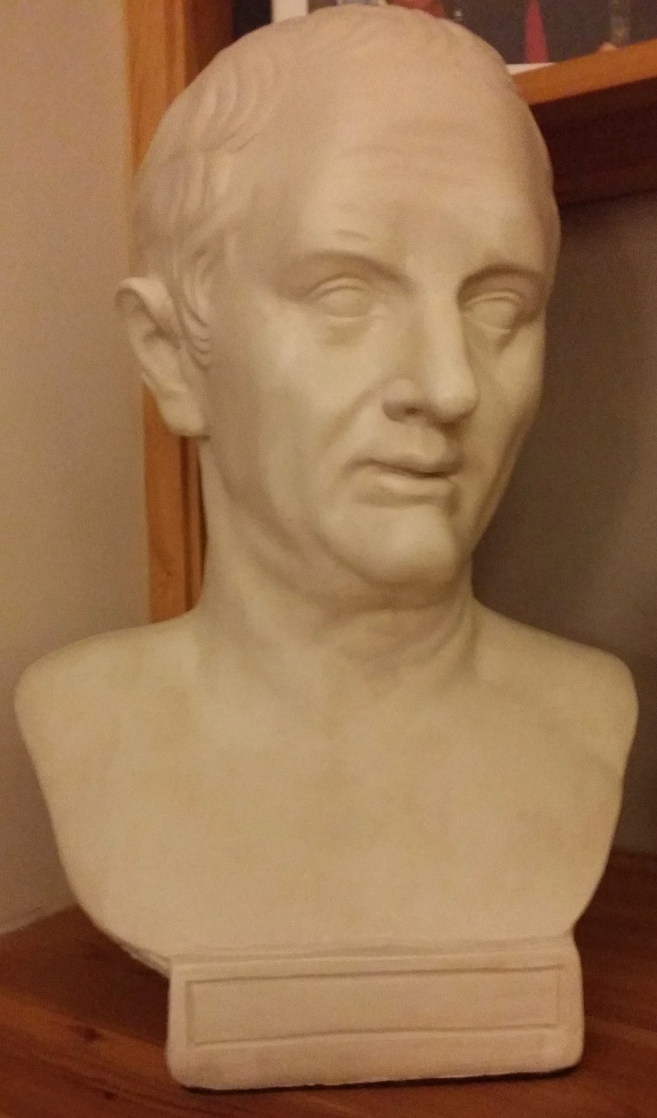 Bust of Cicero. I am grateful to Katie East for providing the image.
