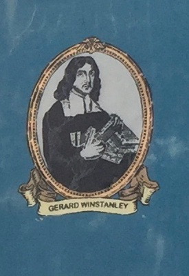 Image said to be of Gerard Winstanley from a mural in the Ouseburn Valley, Newcastle. Image by Rachel Hammersley.
