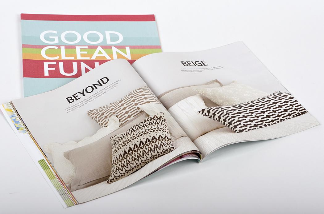 The Annie Selke Companies brand book, winner of HOW Magazine's 2012 In HOWse Merit Award
