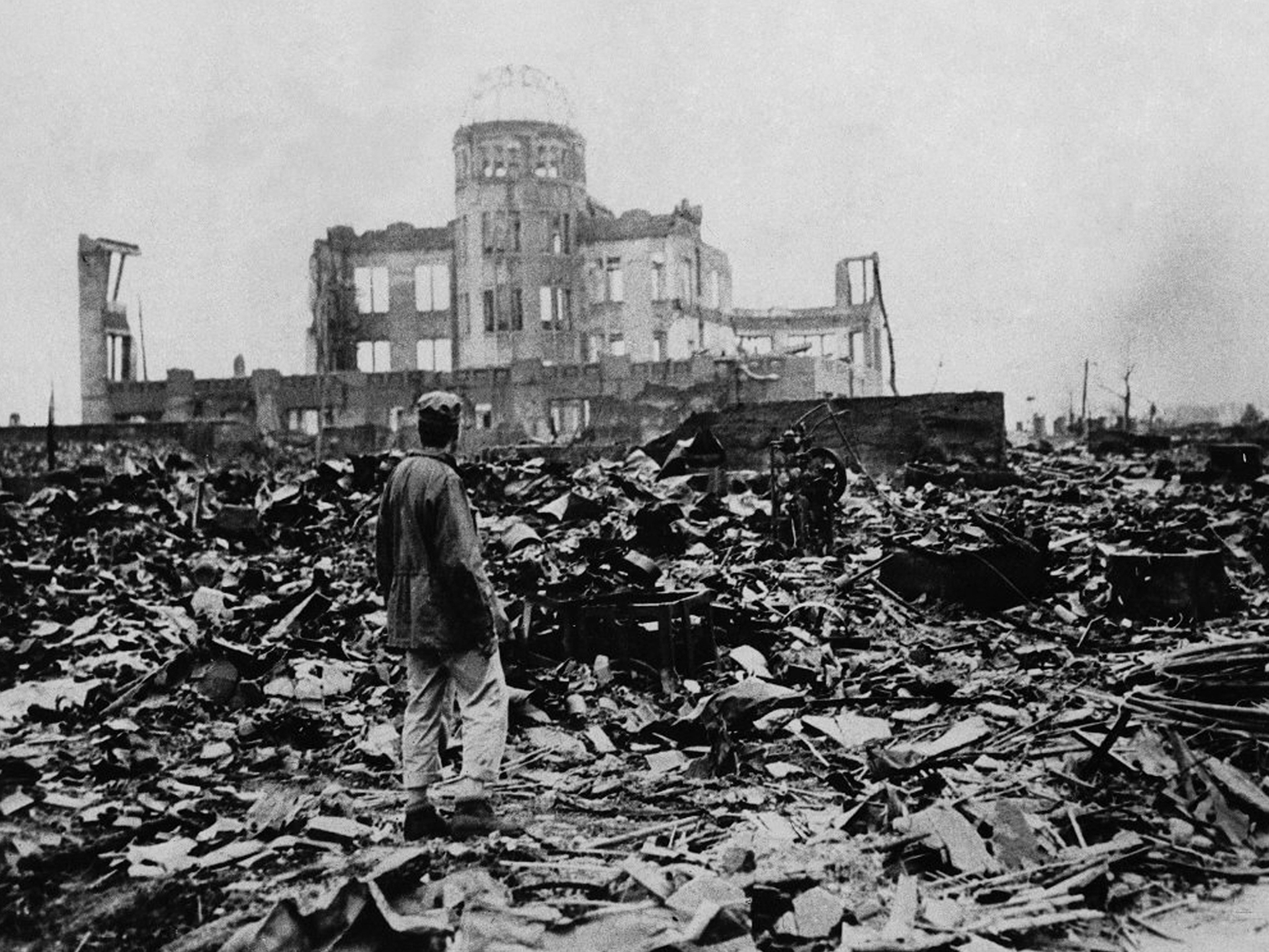 A post atomic-bomb Hiroshima
