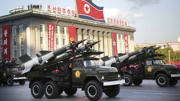 NORTH KOREA READY TO TEST THEIR NUCLEAR WEAPONS