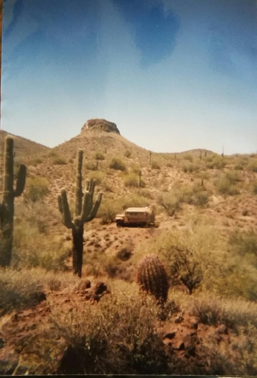 J.D'S CHARLEY BUS IN PHOENIX, AZ., HE THINKS.