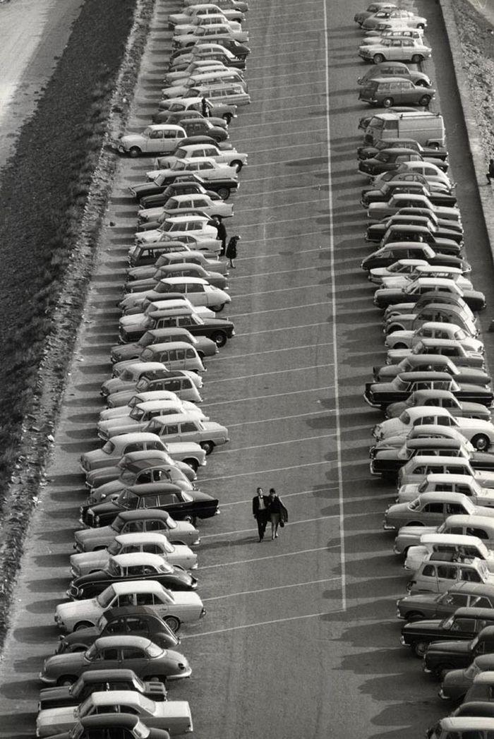 Le Mont Saint Michel France, 1965 | Photographer: Unknown