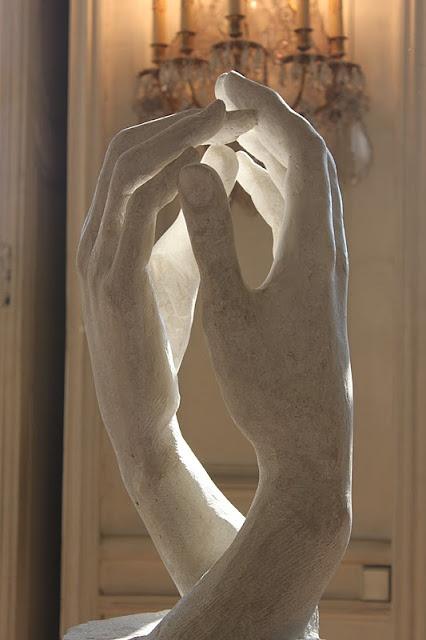 Artist: Auguste Rodin - Cathedral Hands | Musee de Rodin, Paris