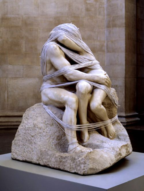 Artist: Rodin - Wrapped by artist Cornelia Parker at the Tate Modern