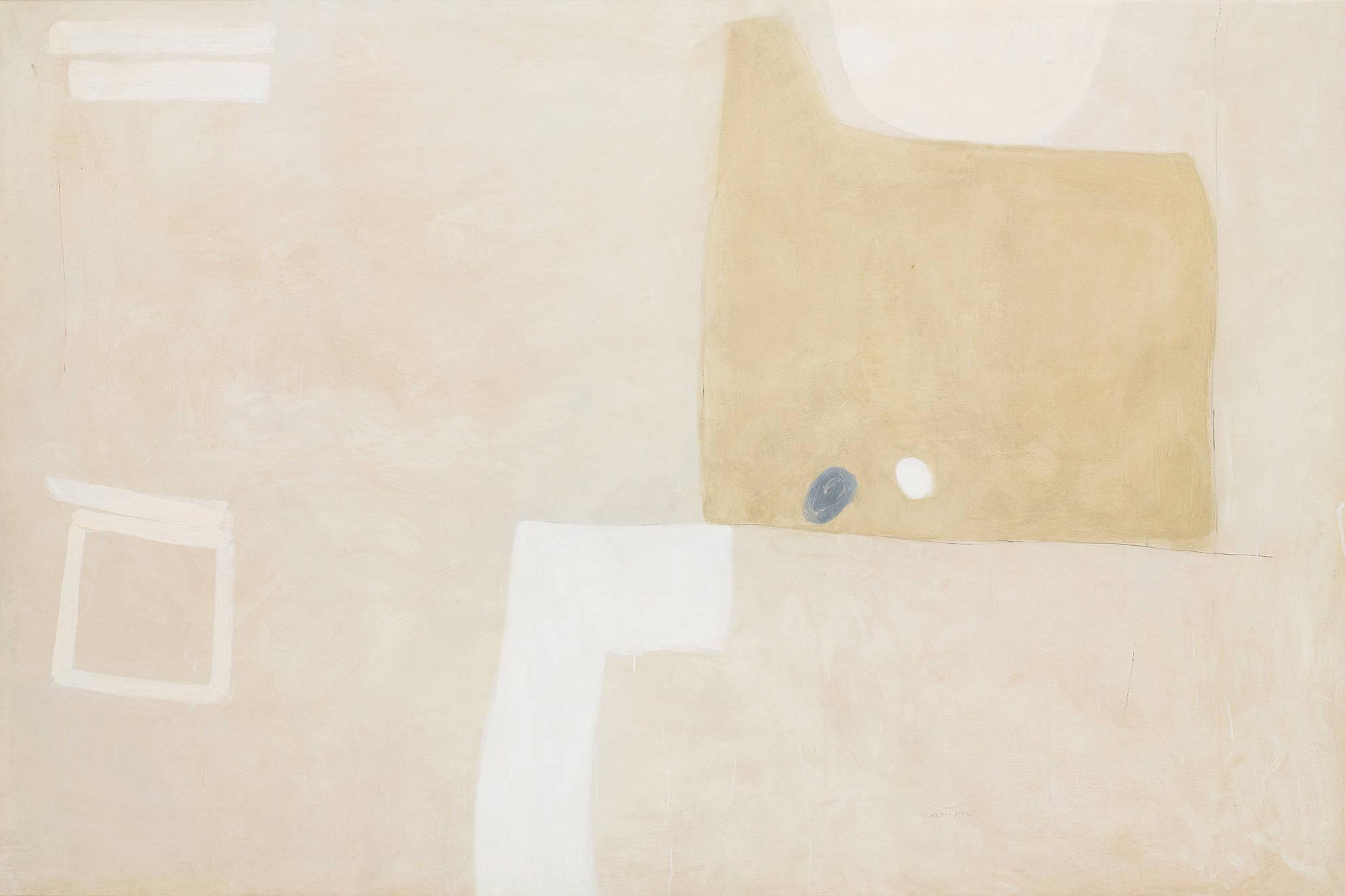 Artist: Agnes Martin | Untitled, 1957