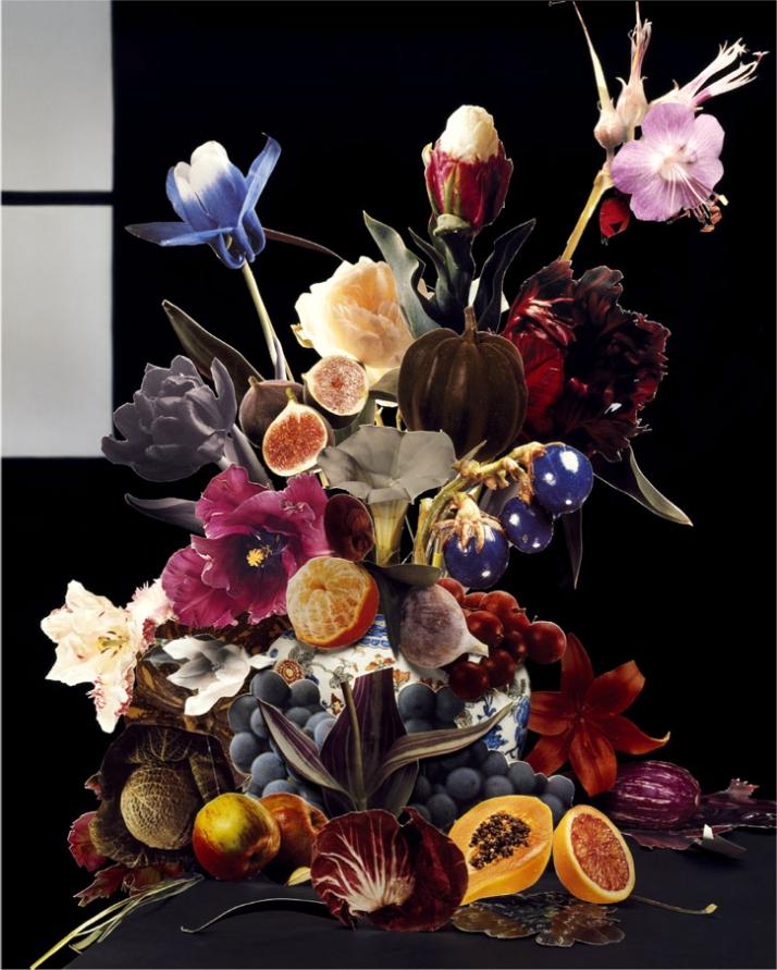 Photography: Maurice Scheltens | Still Life | CUT OUTS Bouquet IX, (2008)