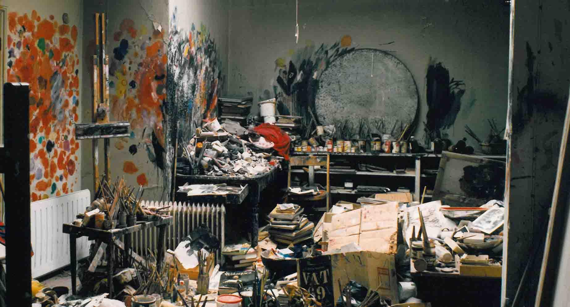 Gustav Klimt's Studio Space