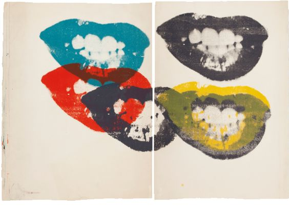 Artist: Andy Warhol, I Love Your Lips Forever Forever