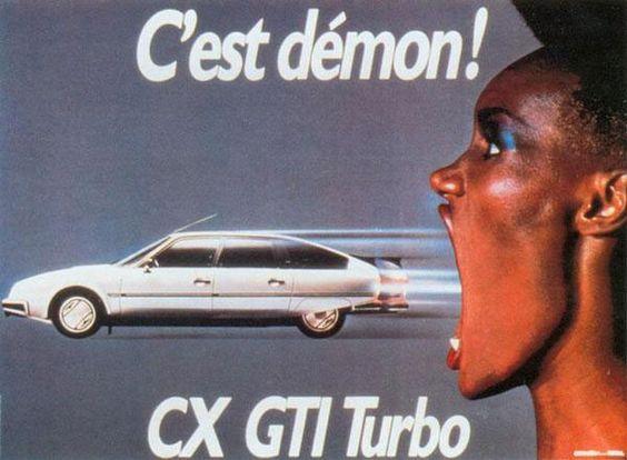 Vintage Citroen Ad.