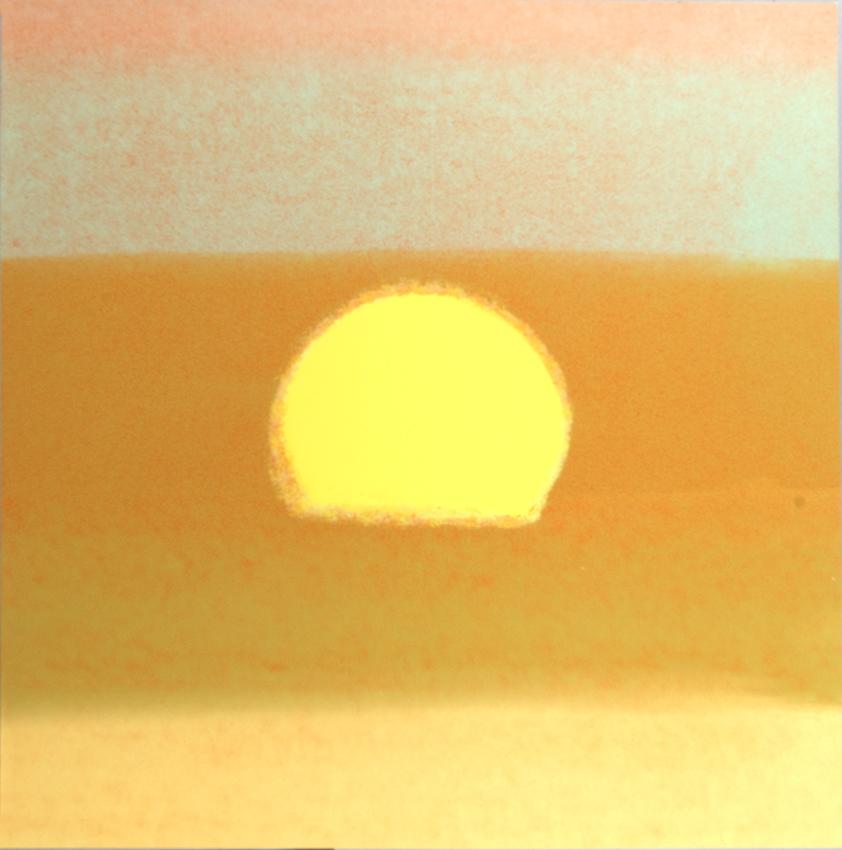 Artist: Andy Warhol   Sunset, 1972
