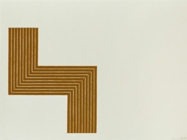 Artist: Frank Stella (?)