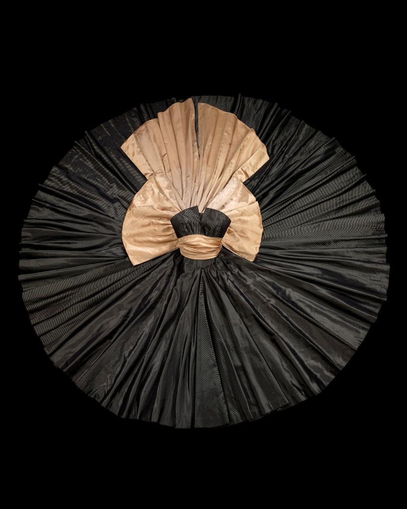 Artifact photograph of a Christian Dior dress
