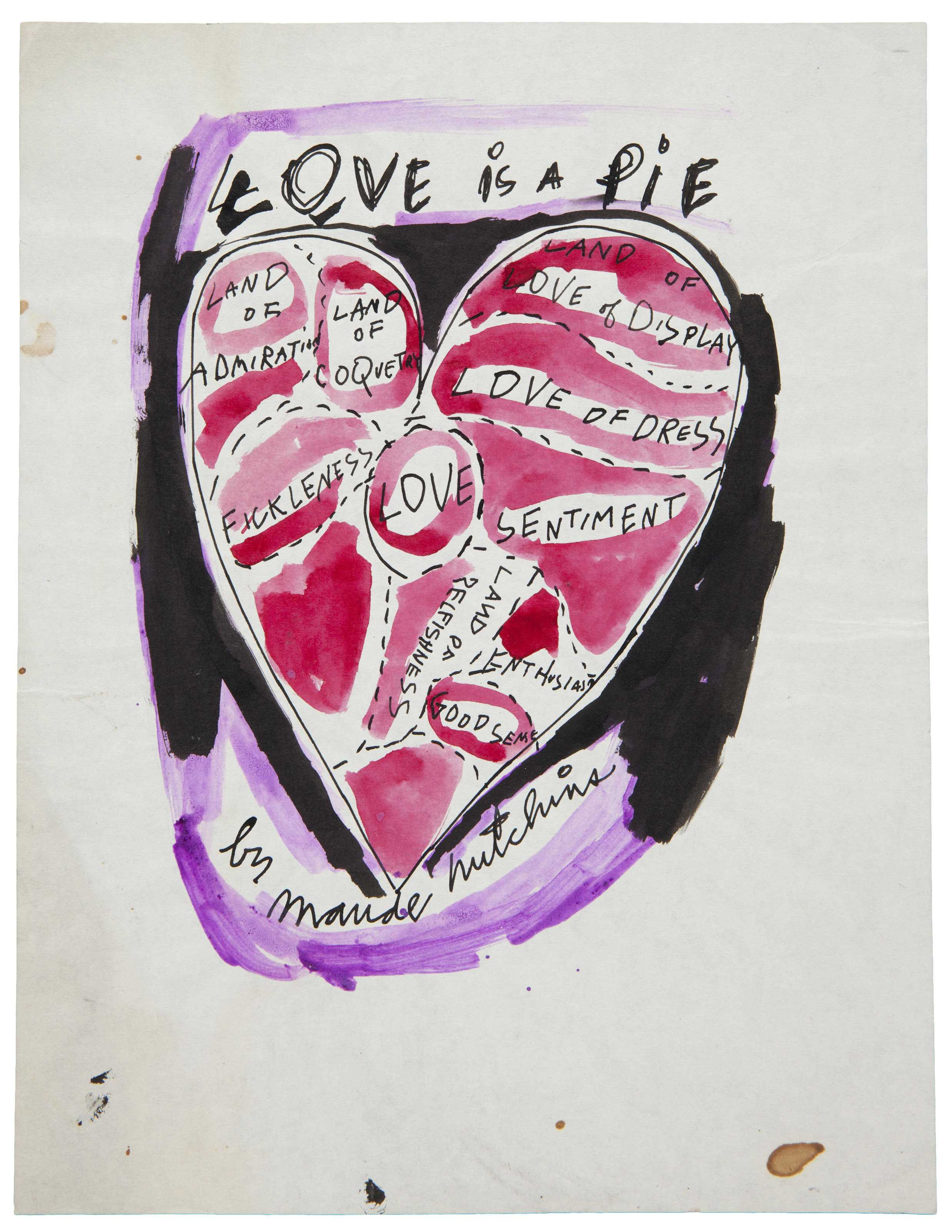 Artist: Andy Warhol | Love is a Pie