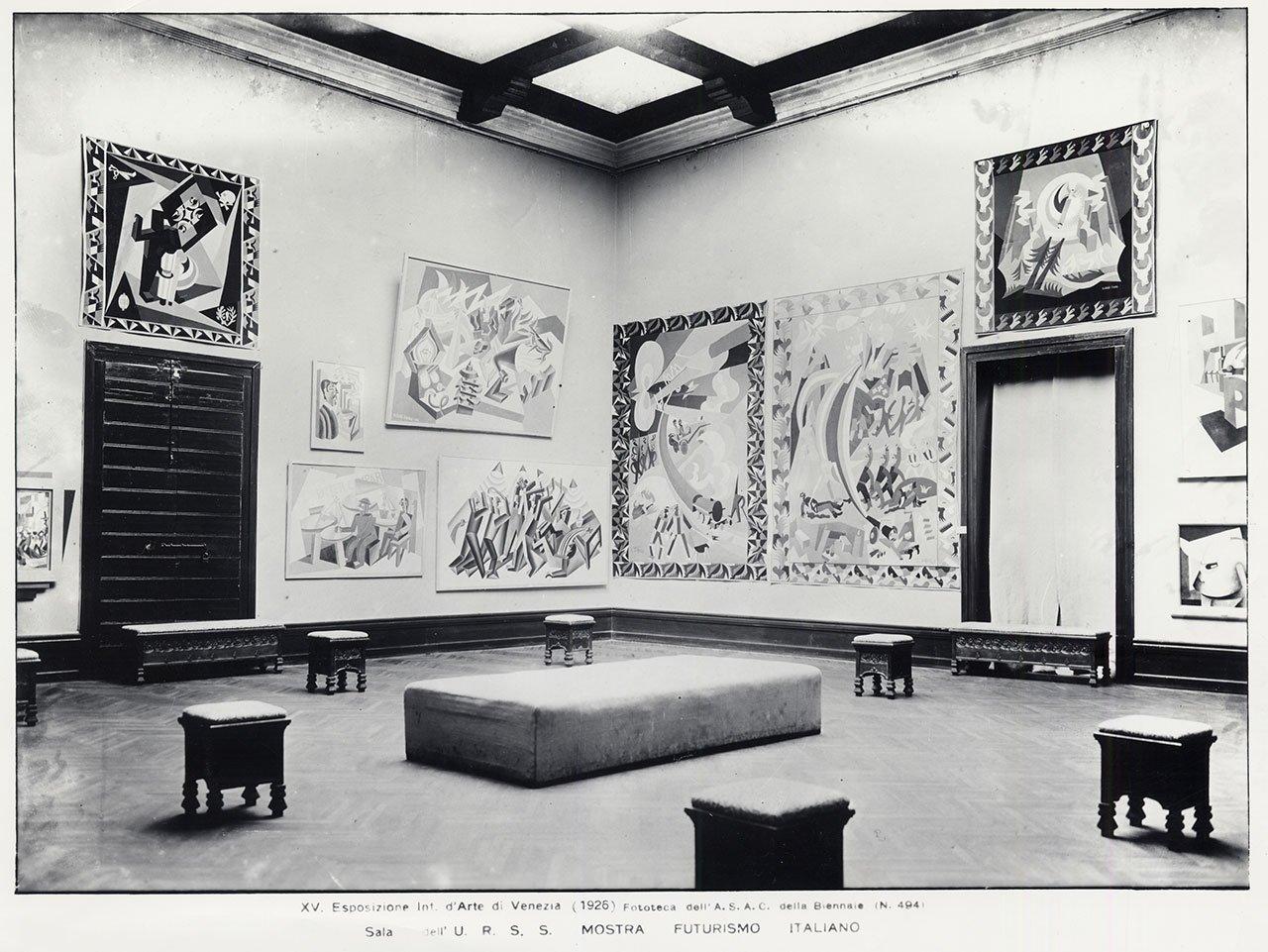 Italian Futurist Exhibition, 1926 Venezia
