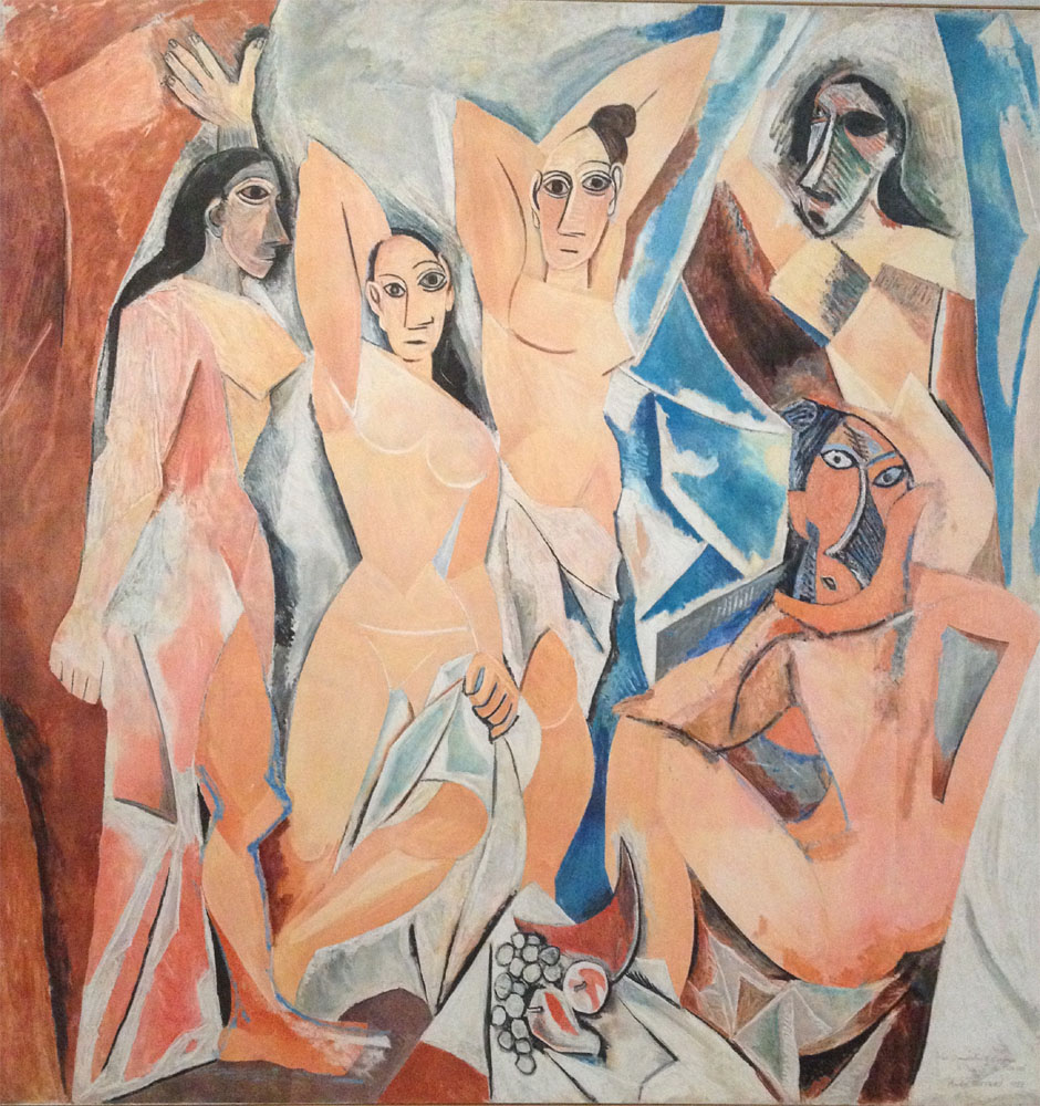 Artist: Picasso | Les desmoiselles d'Avignon, 1907