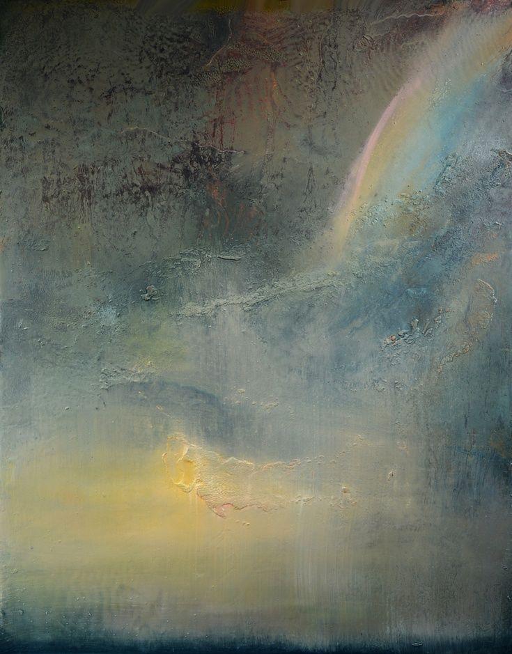 Artist: Maurice Sapiro | Rainbow at Dusk