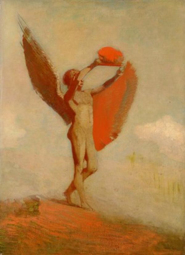 Artist: Odilan Redon | Icarus
