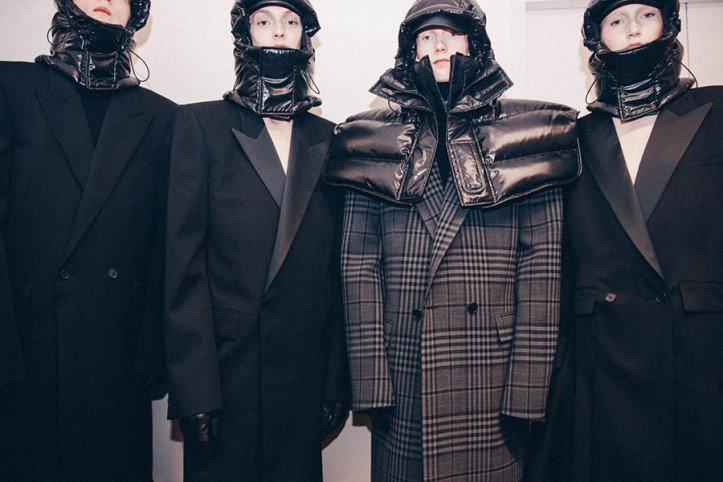 Fashion Week | Backstage at Juun J. | Self Service Magazine