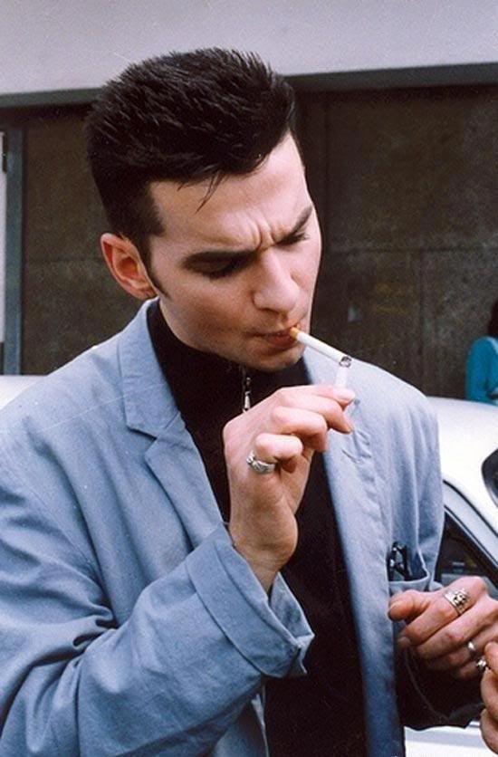 Photography: Unknown   David Gahan, 1980's