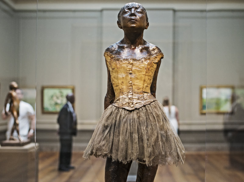 Artist: Degas | Little Dancer, age 14 | National Gallery