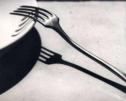 Photography: Andre Kertesz | La Fourchette, 1928